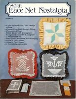 More Lace Net Nostalgia Darning Charts Patterns Book Cover Alphabet 1984
