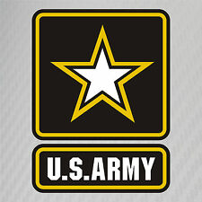 US Army Military Logo Soldier Retired Vinyl Graphics Decal Sticker Car Window