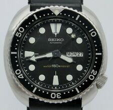 VINTAGE 1983 Seiko 6309-7049 Mens 44mm Automatic Steel 150m Divers Watch Turtle