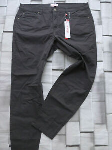Sheego-Trousers-Cloth-Pants-Grey-48-Long-Size-96-plus-Size-315