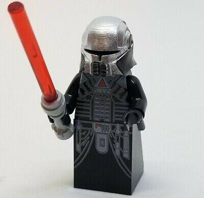 Sith Lord Star Wars Block Minifigure DARTH NIHL **NEW** Custom Printed