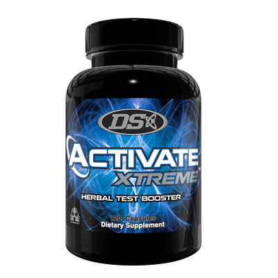 Driven Sports ACTIVATE XTREME Herbal Testosterone Booster 120 Capsules 791851333477 eBay