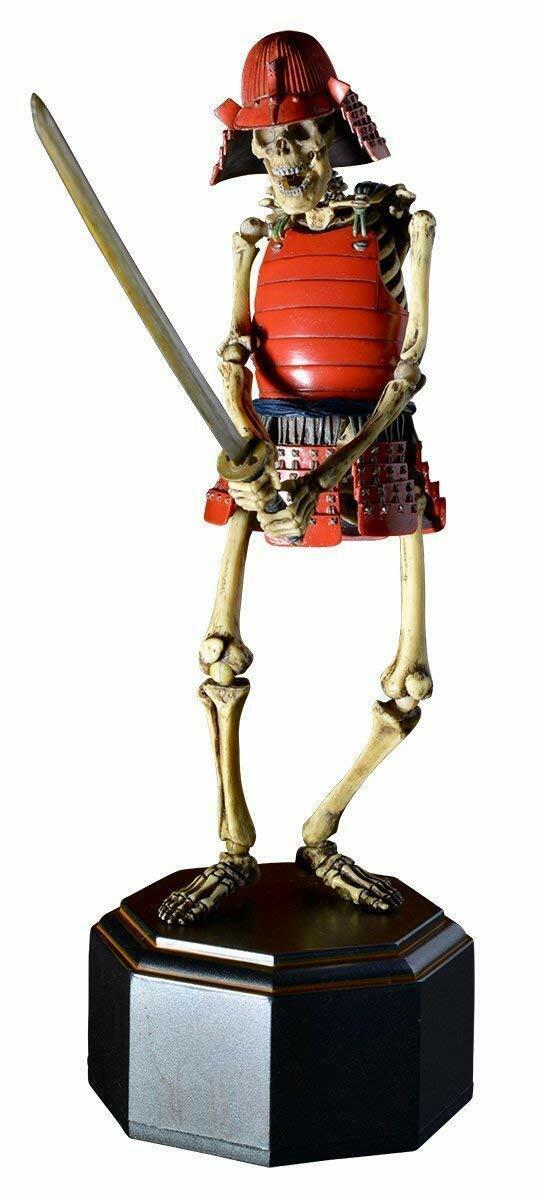 Kaiyodo TK Project KT-010 Takeya Style Samurai Skeleton rot Version Action Figure