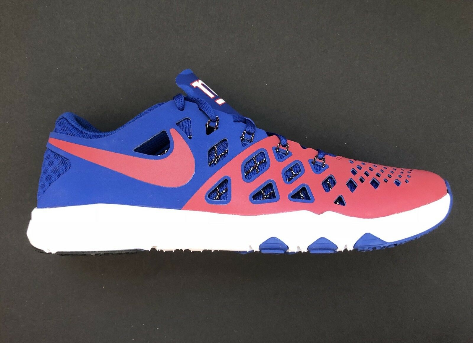 Nike New 4 York Giants Speed Train 4 New AMP Ltd Edition Shoes 848587-610 Size 11.5 7463f5