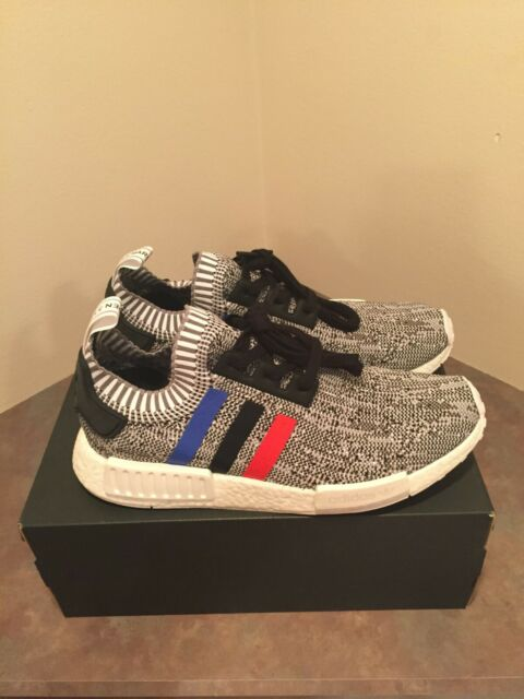 DS Authentic Adidas NMD R1 PK Tri Color Colorway Size 10 Primeknit Boost Yeezy