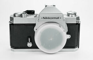 Nikkormat FT3 body chrome 35mm film camera reflex analogica Nikon obiettivi lens