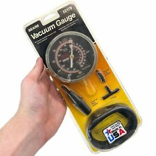 Nos Sears 92179 Automotive Vacuum Amp Pressure Gauge Fuel Pump Tester Vintage New
