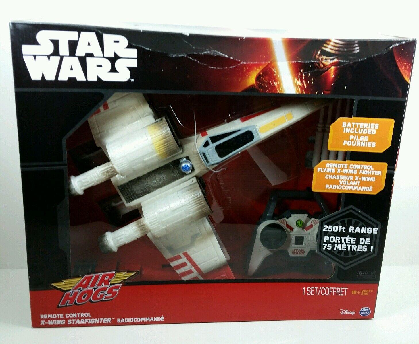 Brand nouveau Star Wars Télécomhommede Air Hogs Chasseur X-Wing Contrôle  Radio Drone Fastship nouveau IN BOX  vente en ligne