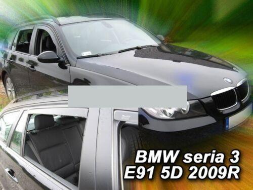 Heck-Windabweiser für BMW 3er E91 Facelift 2008-2012 Touring Kombi 5türer hinten