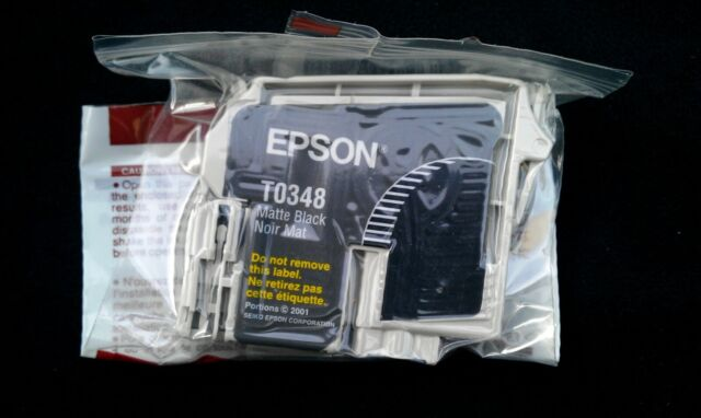 Epson T0348 Genuine Matte Black Ink Cartridge