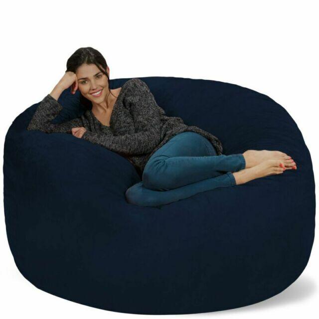Awe Inspiring Chill Sack Bean Bag Chair Giant 5 Memory Foam Furniture Bean Bag Big Sofa Wi Short Links Chair Design For Home Short Linksinfo