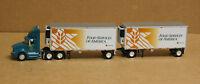 Trucks & Stuff Sp126 International Prostar Daycab Food Serv Amer W/28' Doubles