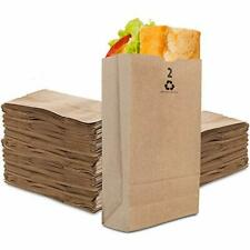 Stock Your Home 2 Lb Kraft Brown Paper Bags 250 Count