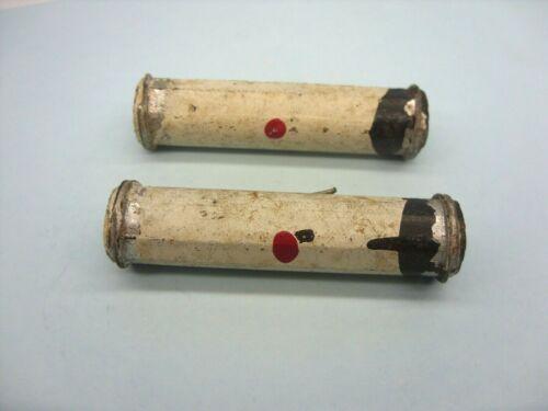 Quantité of 2 vintage 9K1 3 W Dog Bone Carbone Solide Résistances