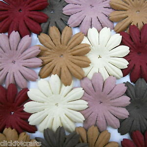 500-Paper-Flowers-Scrapbook-Cardmaking-Birthday-Party-Art-Craft-Supply-P23-828