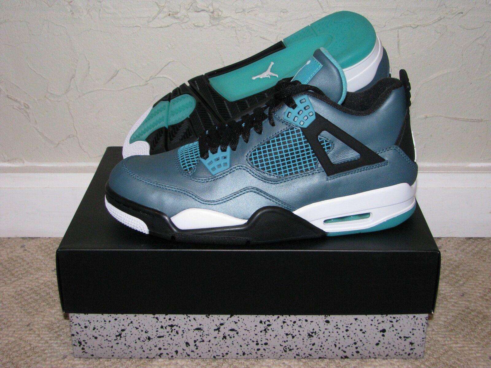 Nike Air Jordan Retro 4 IV Teal 30th Anniversary Mens Size 9.5 DS NEW! III VII