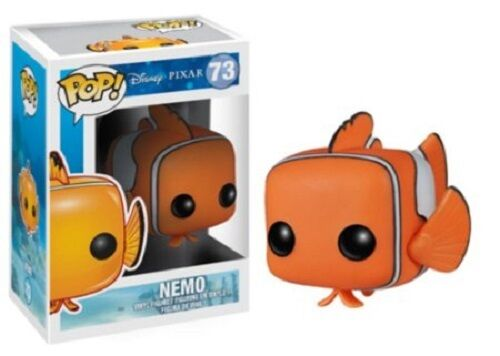 Funko POP Vinyl Figure Pixar Finding Nemo Nemo # 73 New in Box