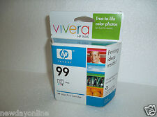 HP 99 Photo Ink Cartridge Vivera 130-Page 1600 5740 6840 460wbt 8750 C9369WN NEW