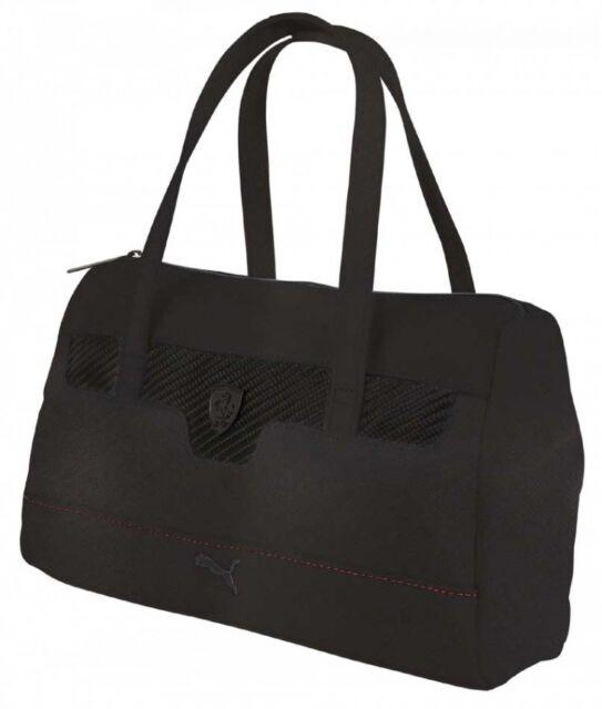PUMA Ferrari Black LS Handbag for sale online  5343c7459cc86
