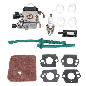 Kit-Del-Carburador-Para-STIHL-FS80-FS38-FS45-FS46-FS55-FS85-Filtro-De-Combustible-Aire