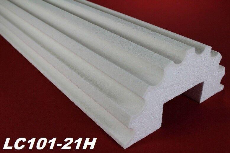 2 Meter Halbsäule kanneliert Körper Halbsäulenkörper stoßfest Ø255mm, LC101-21H