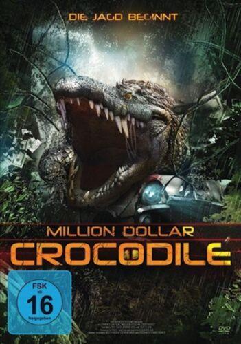 1 von 1 - DVD - MILLION DOLLAR CROCODILE Die Jagd Beginnt PAPPSCHUBER     Neuwertig