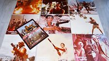 L ' ENFER DES ARMES ! tsui hark lo lieh jeu 9 photos cinema luxe lobby cards