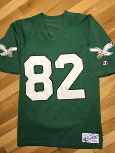 80s VTG Champion MIKE QUICK Philadelphia Eagles Jersey Retro Green ...