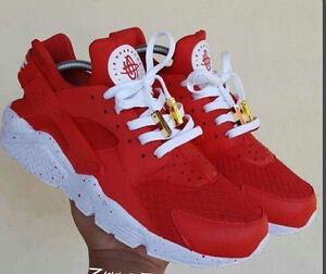 Men-Air-Huarache-Sport-Shoes-Sneakers-Athletic-Shoes-white-red