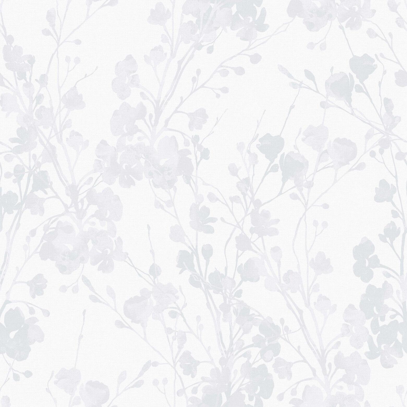 Smita Tapete Sherazade SH-20060 Blüten Blätter Vliestapete Vinyltapete Vlies