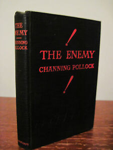 1st-Edition-THE-ENEMY-Channing-Pollock-PLAY-4th-Printing-DRAMA-Fiction