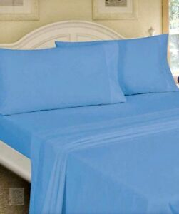 Queen Size Flat Sheet Mainstays Bedding New | eBay