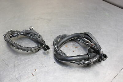88-07 Ninja 250R 250 EX250 Front Braided Stainless SS Brake Line by Venhill