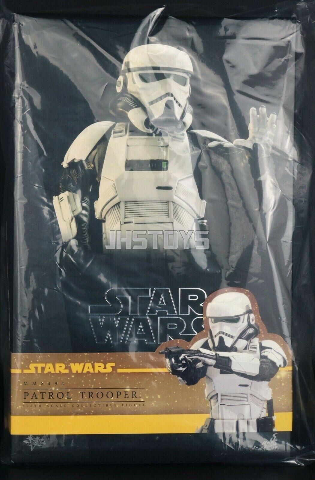 Caliente giocattoli 1 6 estrella  guerras Solo A estrella guerras storia Patrol Trooper MMS494  fabbrica diretta