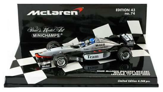 Minichamps mclaren MP4-98T 2 places m & e Häkkinen échelle 1 43