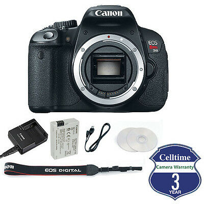 Canon EOS 650D (Import of Rebel T4i) Body Only - Includes Supplied Accessories