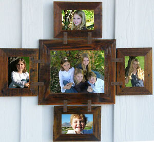 Image Is Loading Rustic Country Barn Wood 5 Picture Collage Photo