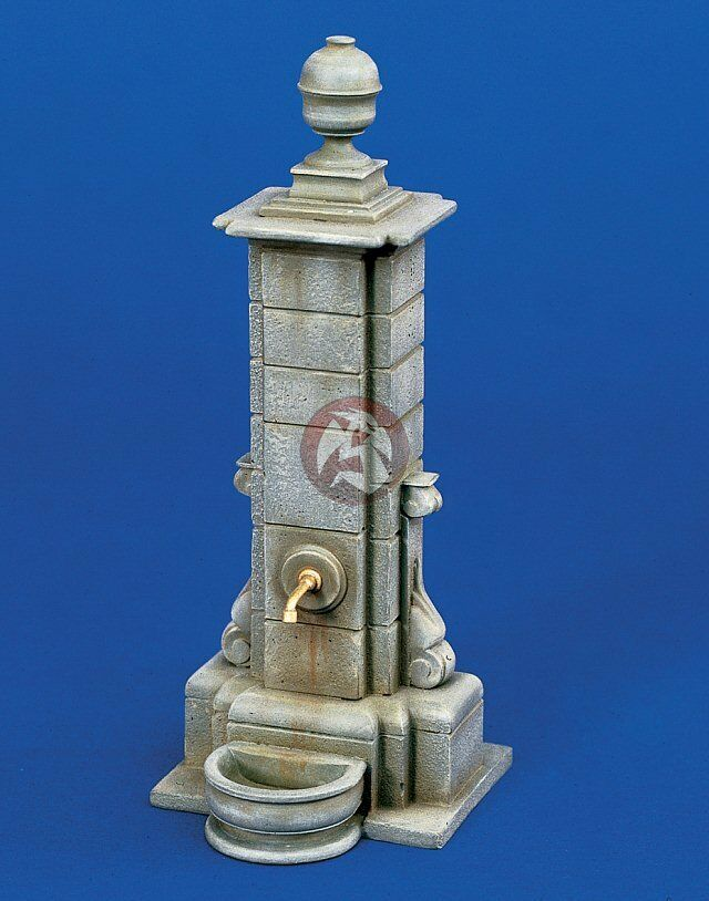 Verlinden 1 35 European Village Marketplace Water Pump Stone Fountain 1036