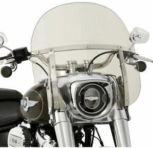 Memphis Shades Mem6009 Fats Windshield 13 Solar For Harley Davidson Fatboy Ebay