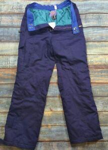 Nevica-Retro-Salopettes-Blue-extra-lining-vary-warm-mint-condition-uk-Size-40M