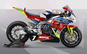 Neu-Verkleidungssatz-Verkleidung-Fairing-fuer-Honda-CBR1000RR-2008-2011-Blau-Rot