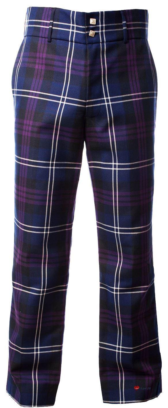 Traditional Scottish Men's Trouser In Heritage Of Scotland Tartan 48  Large