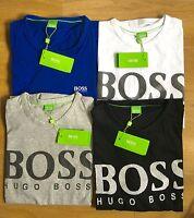 Hugo Boss Short Sleeve Men's Crew Neck T-Shirts Big Logo