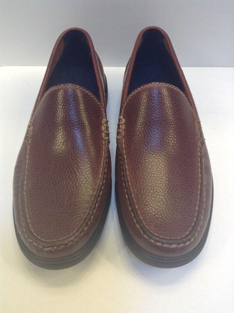 Cole Haan Sutton Plain PL Venetian Woodbury Grain Loafer Men 8.5 $168 NIB C11740
