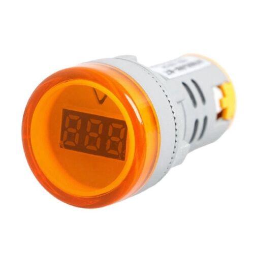 Digital Voltmeter 22MM Light Tester Tools AC 30-600V Indicator Signal Light