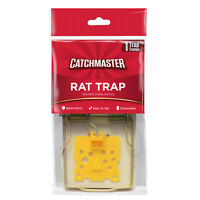 Catchmaster Wood Rat Snap Trap 4 Pack Rat Rodent Trap Fast Trapping Of Rats