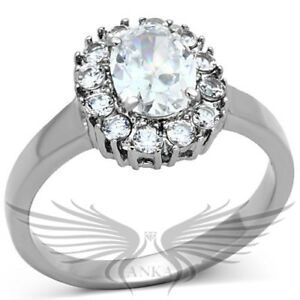 Jewellery & Watches PRINCESS SOLITAIRE ENGAGEMENT RUSSIAN LAB CREATED SIM DIAMOND RING WEDDING TK199
