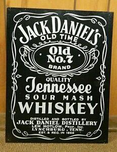 Jack Daniel's Old No 7 Brand Métal Signe-afficher le titre d`origine DXE0yILI-09092629-119570971