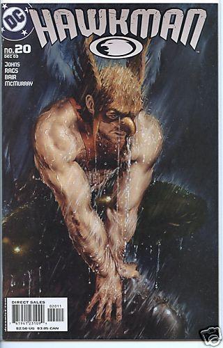 Hawkman 2002 series # 20 near mint comic book