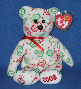 TY GINGERSPICE the BEAR BEANIE BABY - MINT with MINT TAG - HALLMARK EXCLUSIVE